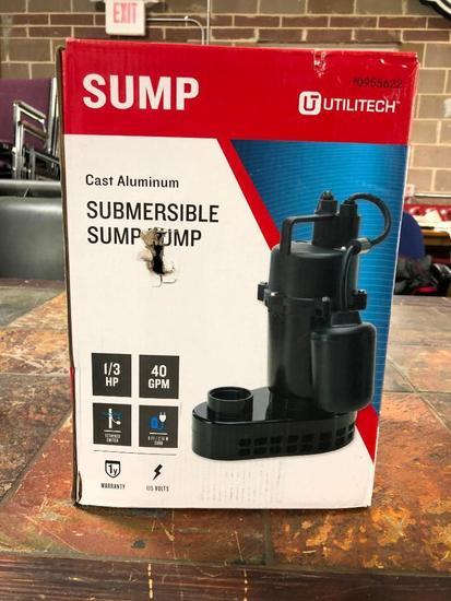 Cast Aluminum Submersible Sump Pump