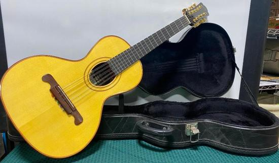 Giannini Hand-made in Brazil 10 String C5 String with Paired Strings, Brazilian Viola Guitar