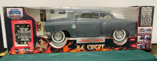 c. 2004 West Coast Choppers Jesse James 1954 Chevy Battery Operated Remote Control Car w/ Orig. Box