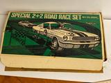 Vintage Special 2+2 Road Race Set Slot Car Set