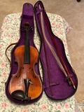 Antique Violin and Case
