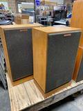 Klipsch Stereo Speakers Model: kg4 two-way floor standing speaker system