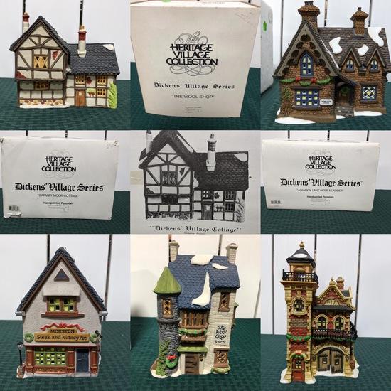 Dickens Village Department 56 Christmas Villages