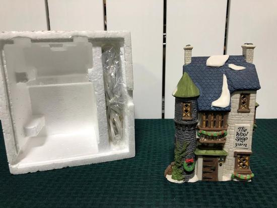 Dickens Village Series - The Wool Shop - (The Heritage Village Collection)