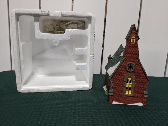 Dickens Village Series-Department 56 -Dudden Cross Church (The Heritage Village Collection
