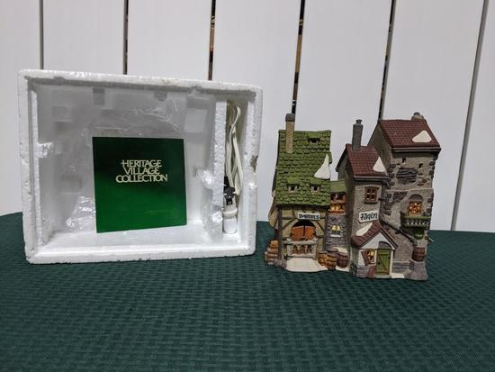 Dickens Village Series-Department 56 -Oliver Twist- Fagin's Hide-A-Way (The Heritage Village