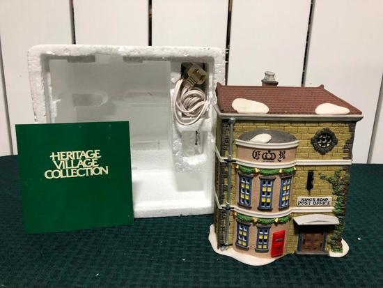 """Dickens Village Series Department 66 - """"King's Road Post Office""""- (The Heritage Village Collection)"""