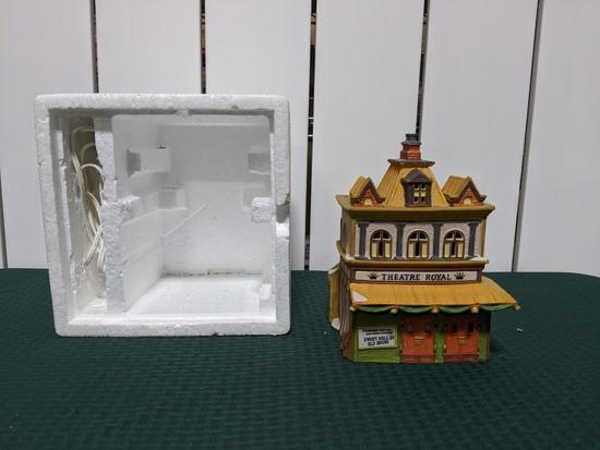 Dickens Village Series-Department 56 -Theatre Royal (The Heritage Village Collection