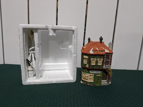 Dickens Village Series-Department 66 - Public House (The Heritage Village Collection)