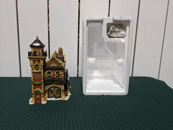 Dickens Village Series-Department 66 - Ashwick Lane Hose & Ladder (The Heritage Village Collection)