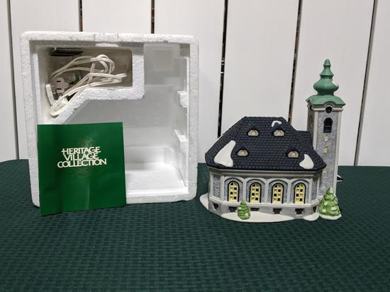 Alpine Village Series-Department 66 - St. Nikolaus Kirche (The Heritage Village Collection