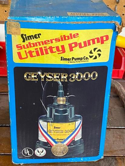 Simer Submersible Utility Pump Model # 2300