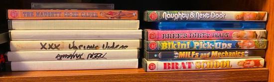 XXX DVDs
