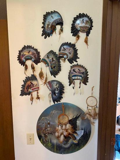 Wall Decor, Framed Puzzles, Dream Catcher, John Wayne