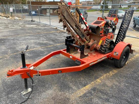 2015 Ditch Witch RT20 Trencher w/ Ditch Witch S2B Trailer - Just 140 Hours, VG Cond, Runs Great