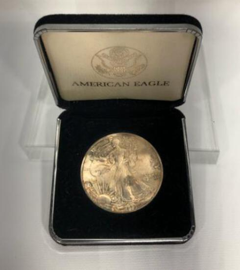 1991 American Eagle in Case, P Mint