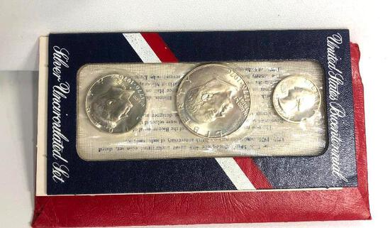United States Bicenntial Silver Uncirculated Set 1776-1975