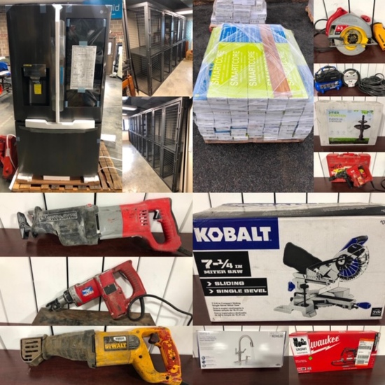 Lowe's Home Store Products & Tools Auction Omaha