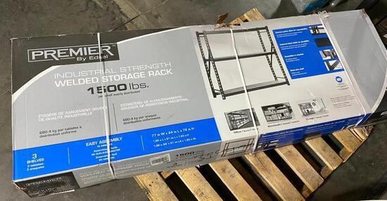 Premier Industrial Strenght Welded Storage Rack 1500lbs