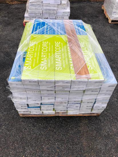 (61) Sixty-One Boxes of Smartcore Waterproof Durable Premium Engineered Vinyl Flooring