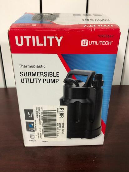 Utilitech Utility Thermoplastic Submersible Utility Pump