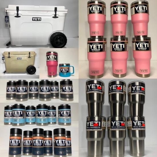 New YETI Coolers, Bulk Lots & Cases of YETI Omaha