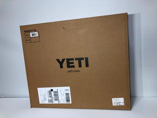 YETI Panga 50 Dry Duffle Storm Gray - New In Box, MSRP: $299.99