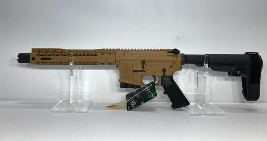 Black Rain Ordnance Spec15 .450 Bushmaster Pistol SN: SR002836