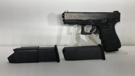 Glock G19 Gen 4 9mm 15 Round Mag w/ Factory Case & 3 Magazines SN: BBWG672