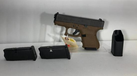 Glock 27 Gen 4 .40 S&W 9 Round Mag FDE w/ Factory Case & 3 Magazines SN: VDG511