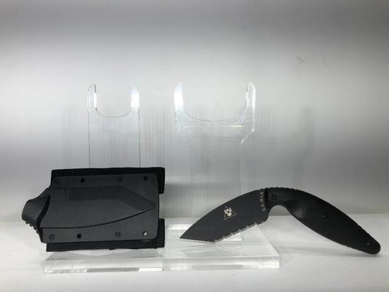 Ka-Bar Large Tanto TDI Serrated Knife MSRP: $59.99