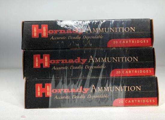 (3) Three Hornady Ammunition 6.5 Grendel 123gr SST MSRP: $26.75