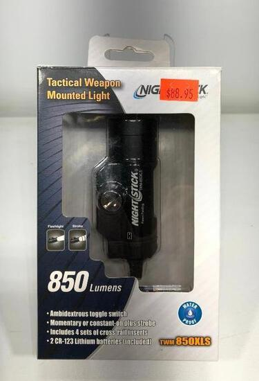 Night Stick Tactical Weapon Mounted Light TWM 850 XL MSRP: $88.95