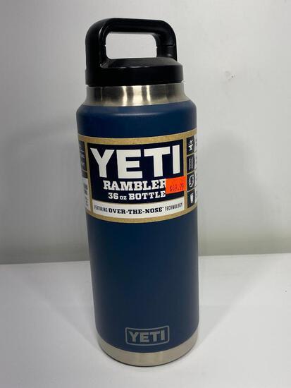 Yeti Rambler 36oz Bottle, Navy