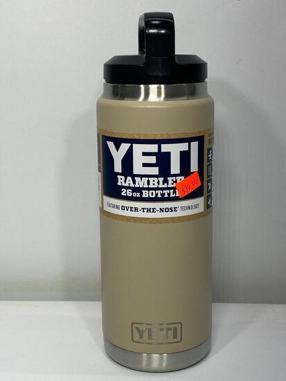Yeti Rambler 36oz Bottle, Sand Color