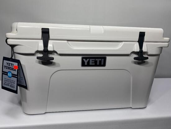 Yeti Tundra 45 Hard Sided Cooler, White