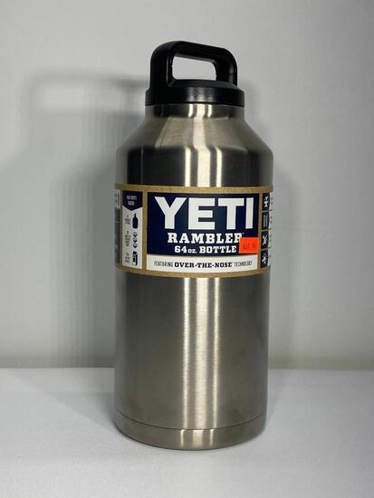 Yeti Stainless Steel 64oz Rambler Bottle