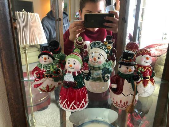 5 Waterford Christmas Bells