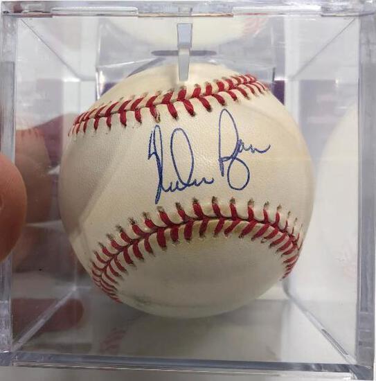 Offical MLB Baseball NOLAN RYAN Autographed JSA Authentic RANGERS