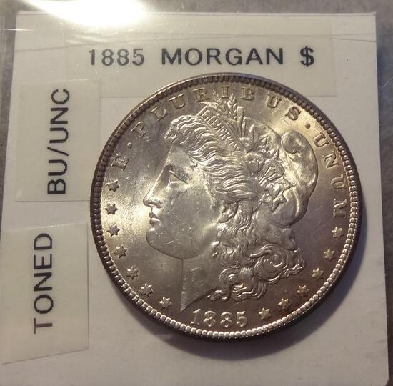 1885 Morgan Silver Dollar - BU/Unc
