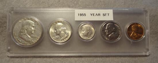 1955 Year Set - Silver