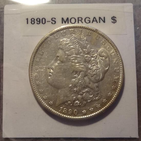 1890 S Morgan Silver Dollar