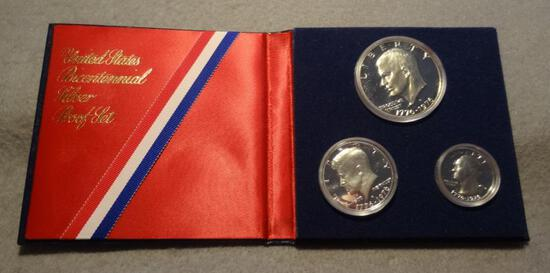 1976 S Proof 3 Coin Set - Silver