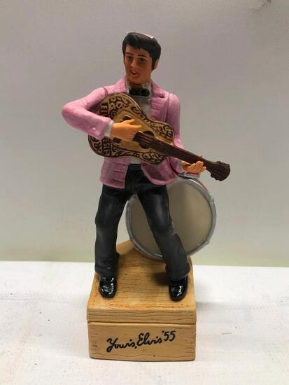 A Second in A Series Mini Elvis Decanter from McCormick, Sealed & Full w/ Box