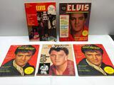 (5) Five Assorted Vintage Elvis Magazines, See Photo for Details