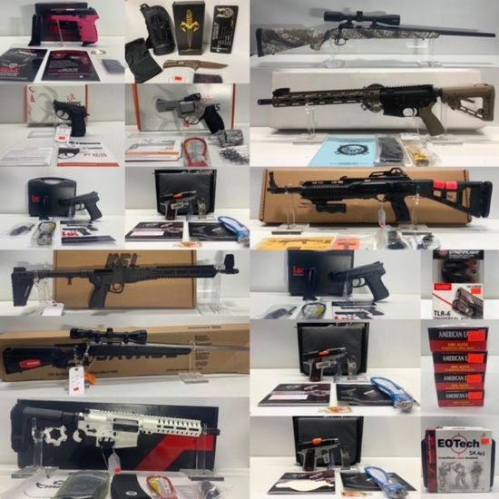 New Firearms, Ammunition, Optics & Parts Omaha