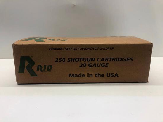 250 Shotgun Cartridges 20 Gauge