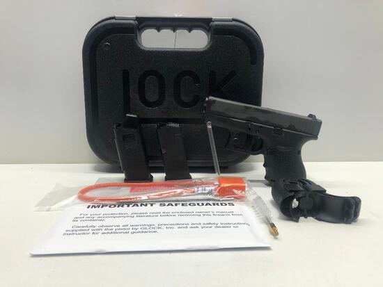 Glock G27 Gen 4 FXD .40 w/ Factory Case & 3 Magazines SN: BHEW312