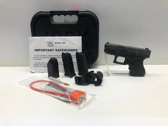 Glock G26 Gen 4 FXD 9mm w/ Factory Case & 3 Magazines SN: BGHF087