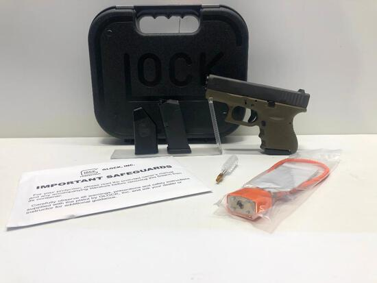 Glock G26 OD FXD 9mm w/ Factory Case & 2 Magazines SN: BFPE277